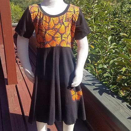 Monarch Twirl Dress