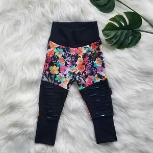 Size 3-6 Grow Along Moto Patch Pants