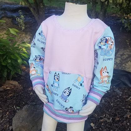 Pink Puppy Sweater