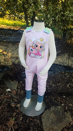 Rainbow Princess Magic Romper