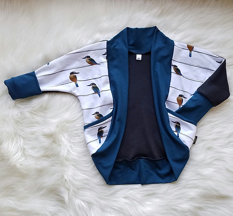 GWM Cozy Cardi- Kingfishers