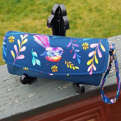 Rainbow Fantails Clutch Wallet