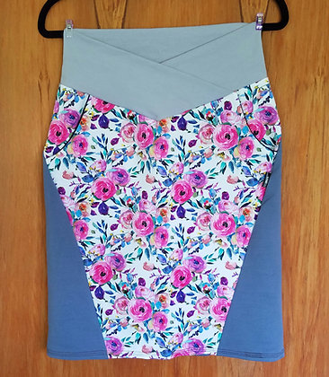 Summer Florals Harakeke Skirt