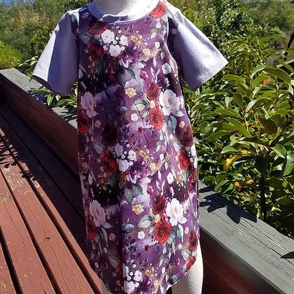Pretty in Purple T-Shirt Dress