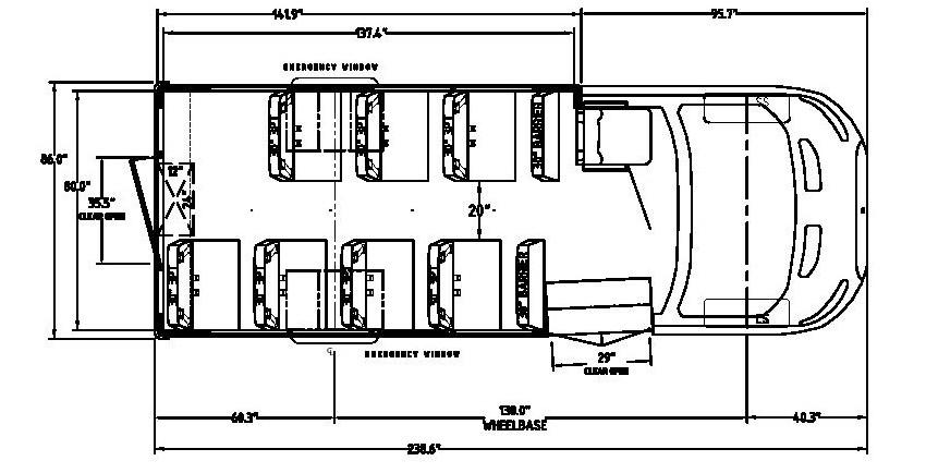 TransTech Ford Transtar - Floorplan