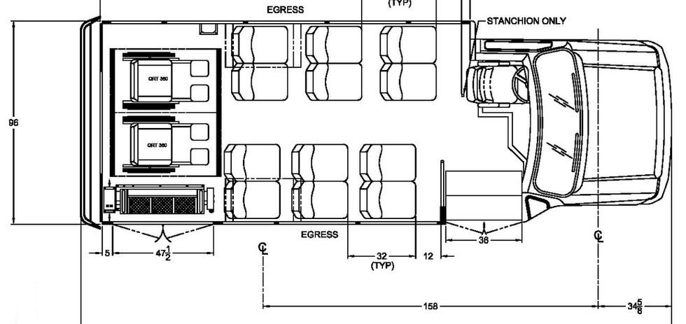 Ford Starcraft Allstar floorplan
