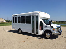 12 Passenger 2 Wheelchair Bus