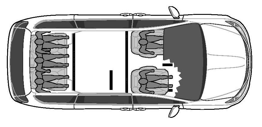 BraunAbility Minivan - Side Entry - Floorplan