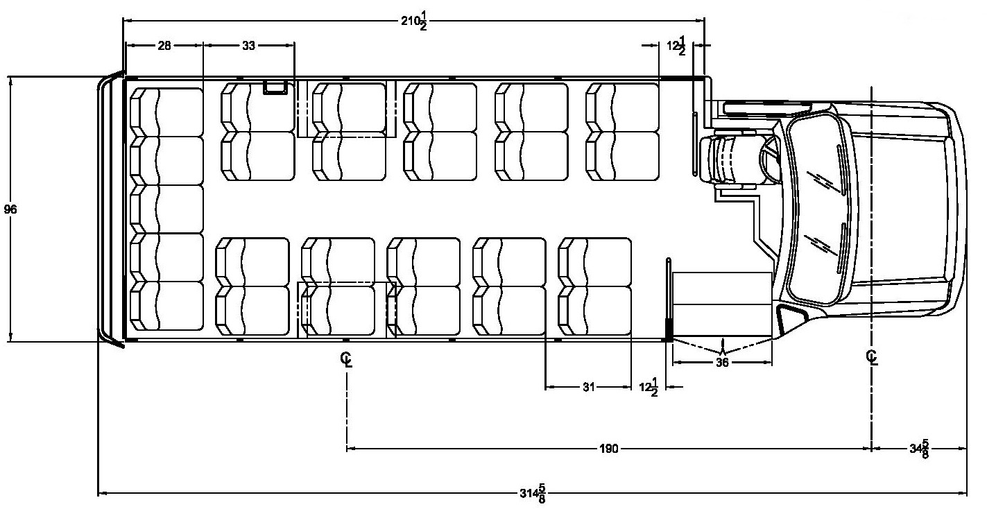 Starcraft Ford Allstar - Floorplan