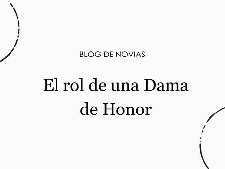 El rol de una Dama de Honor