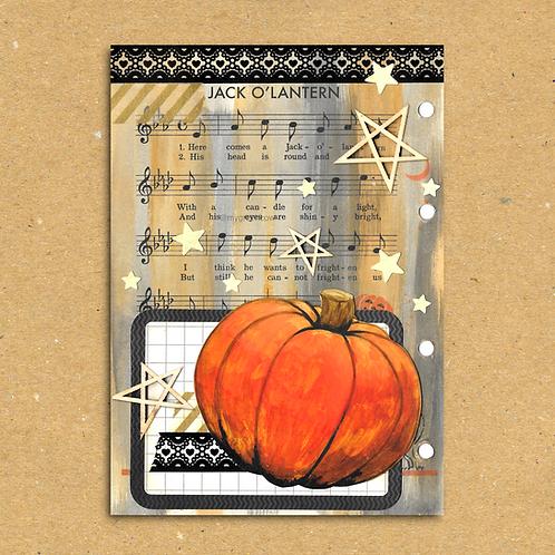 Pumpkin Fright Art Print
