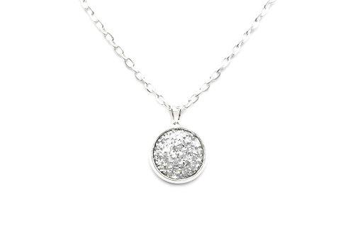 Silver Ore Necklace