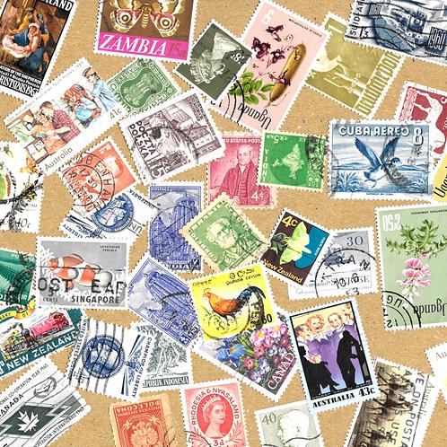 Postage Stamp - Ephemera Pack