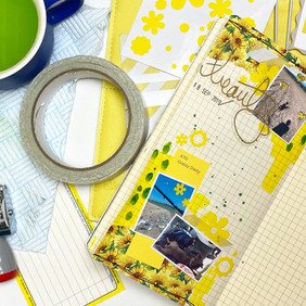 Yellow Journal Page