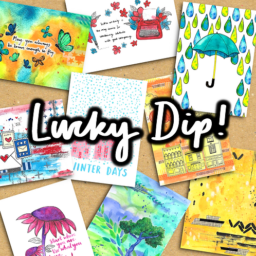 Postcard Lucky Dip