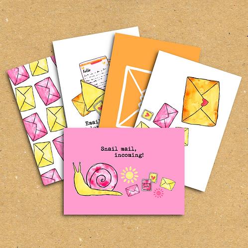 Sending smiles - Postcard Pack