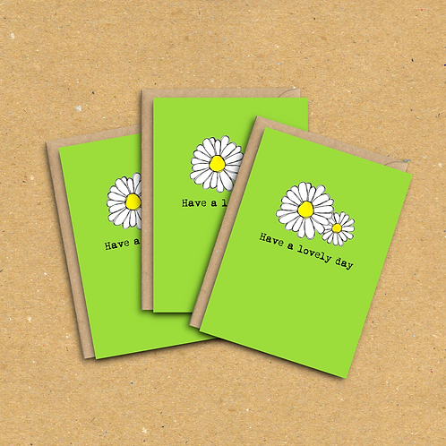 Have a lovely day - Greetings Card Pack