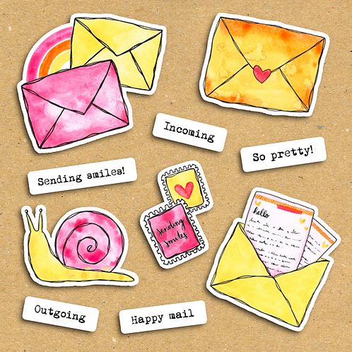 Sending Smiles - Ephemera Pack