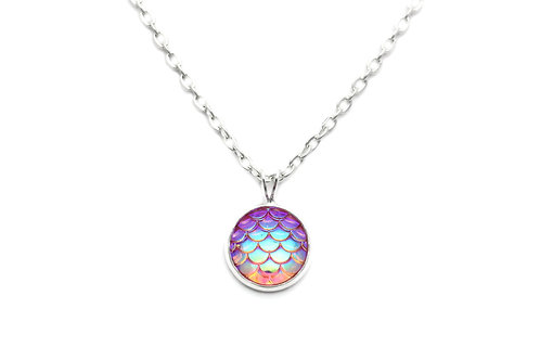Rose Mermaid Necklace