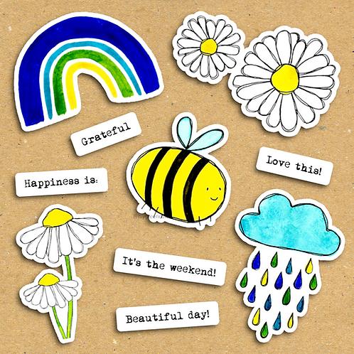 No Rain, No Flowers - Ephemera Pack