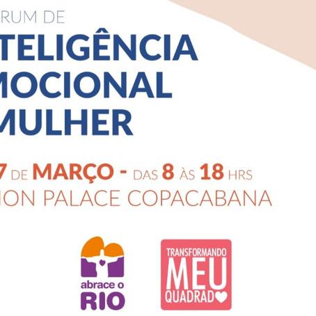 SYLVIA CRIVELLA ORGANIZA 1º FÓRUM DE INTELIGÊNCIA EMOCIONAL DA MULHER NO RIO DE JANEIRO