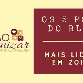 OS 5 POSTS DO BLOG MAIS LIDOS EM 2016