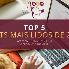 TOP 5 - POSTS MAIS LIDOS DE 2018