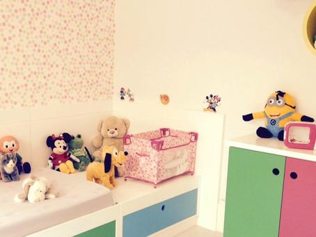 Dicas de como organizar um quarto infantil