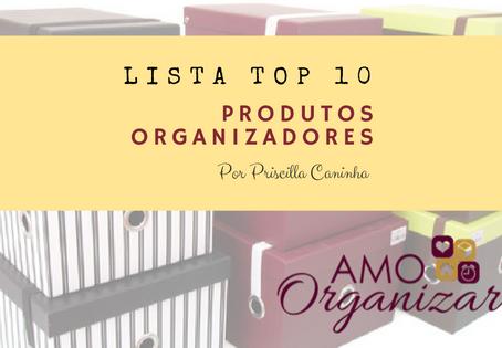 Os 10 Produtos Organizadores mais Utilizados e que não Podem Faltar na sua Organização
