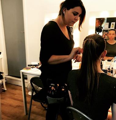 Bridal hair and makeup in Brighton