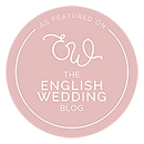 Featureed on the English Wedding Blog