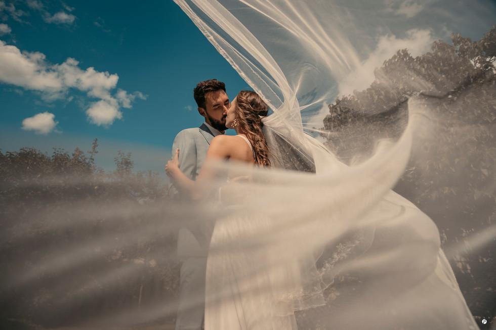 Romantic wedding photo by Irene Todaro