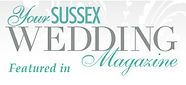 Featured in Your Sussex Wedding Magazine