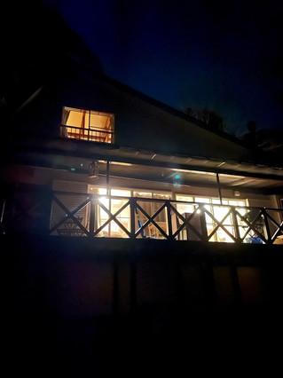 Shimoda House Cottage Night View 02