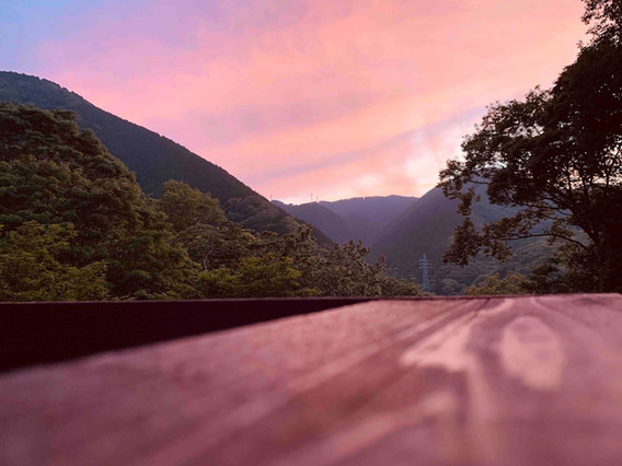 Sunset in Shimoda