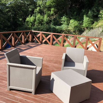 Shimoda House Cottage Terrace Chairs