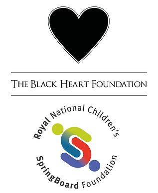 The Black Heart Foundation, Royal National Children's SpringBoard Foundation, donor, supporter, partnership, bursaries, news, black logo, opportunities, boarding, SpringBoarders
