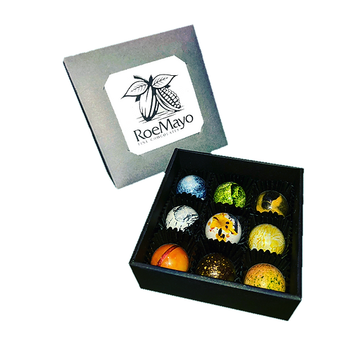 Chocolatiers Selection of 9 Bonbons