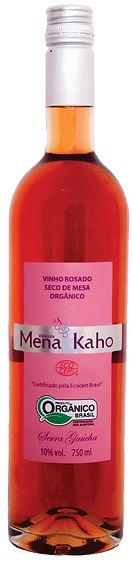 vinho organico rose, mena kaho organico, vinho organico, rose