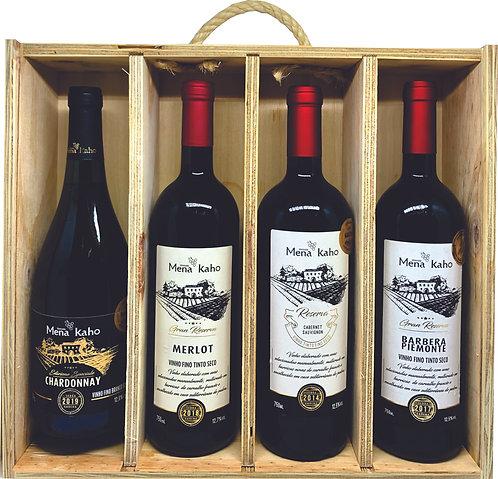 Kit Personalizado de Vinhos V