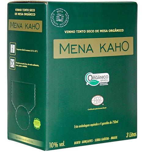 Bag in box vinho Orgânico 3L