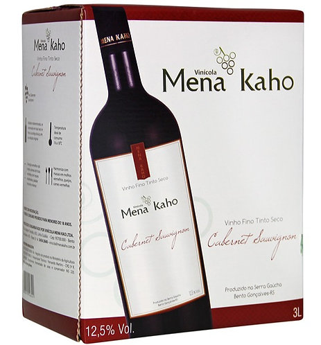 Bag in Box Cabernet Sauvignon 3L