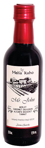 Vinho fino Mr. John 250ml