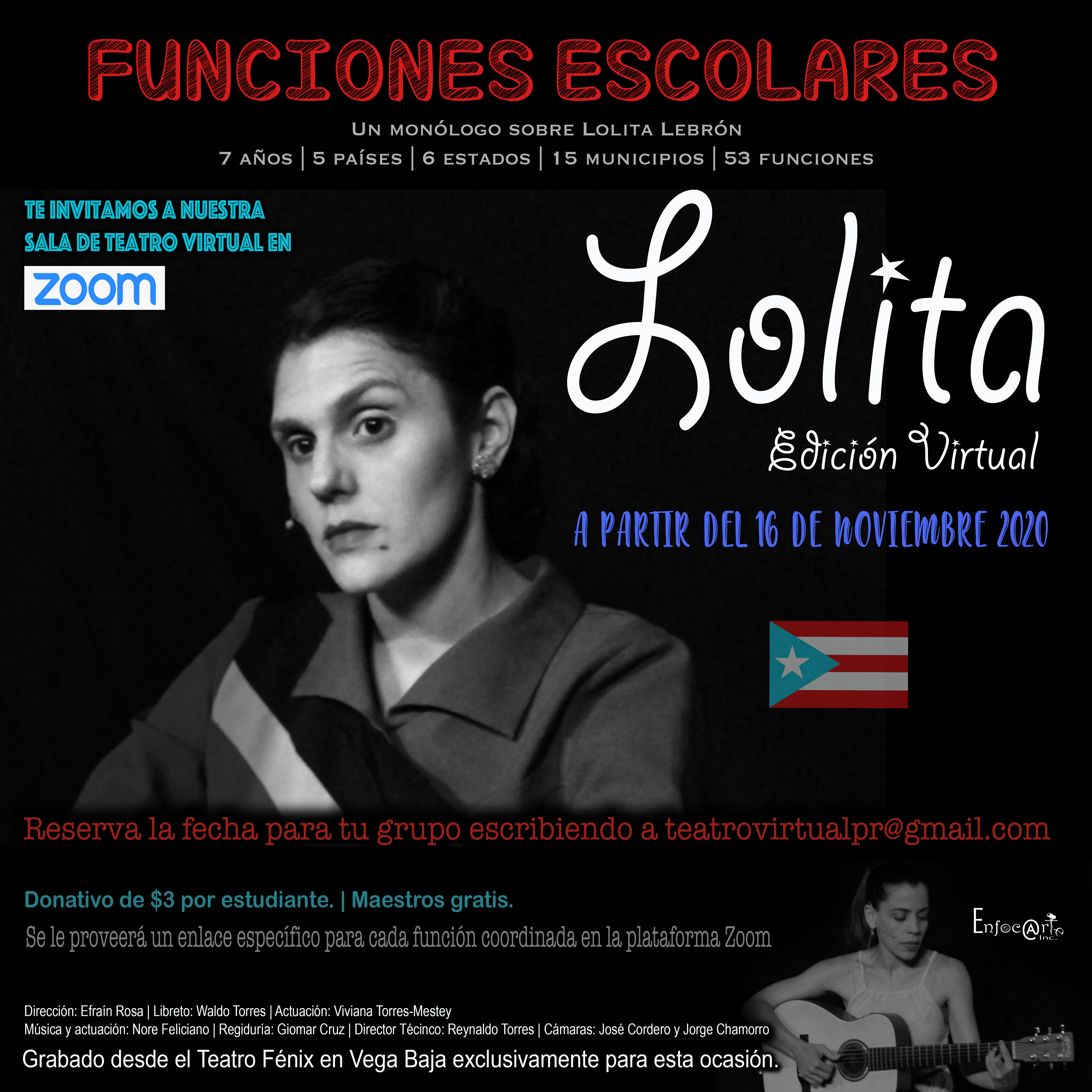 """Funciones virtuales para escuelas """"Lolita"""""""