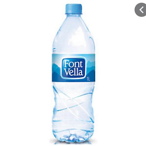 Botella de agua litro y medio
