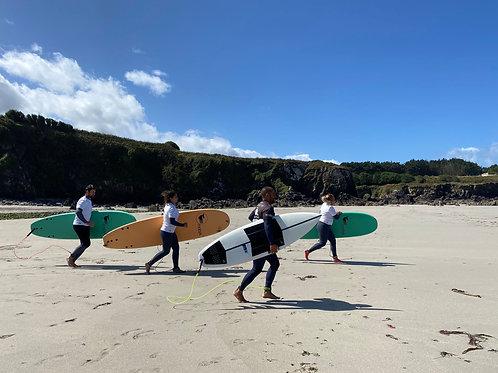 5 clases de Surf
