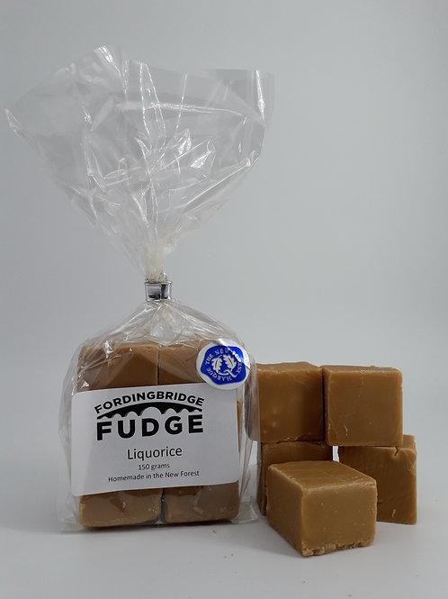 Liquorice Fudge 150g Bag