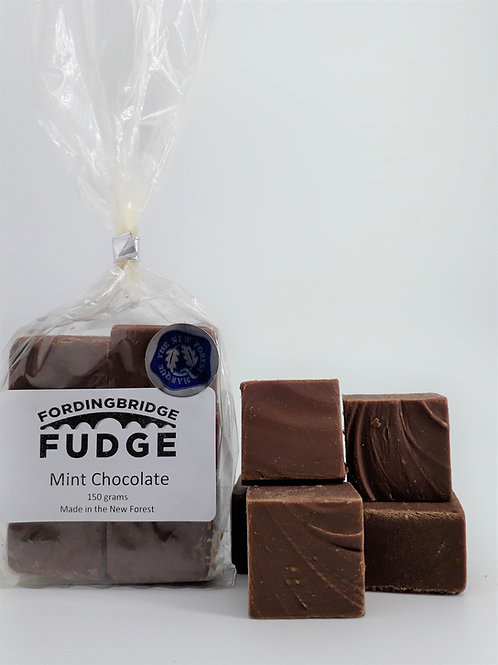 Mint Chocolate Fudge - 150g Bag