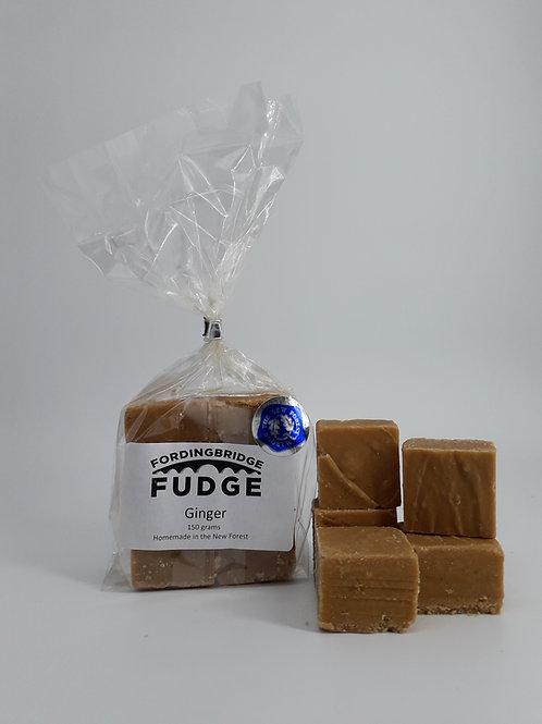 Ginger Homemade Fudge 150g Bag