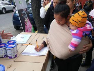 Segunda entrega en el Hospital Pediátrico Tacubaya